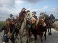 Koňáci a cyklisti